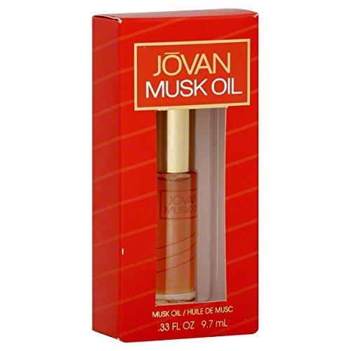 - Jovan Musk Oil, for Women 0.33 fl oz (9.7 ml)