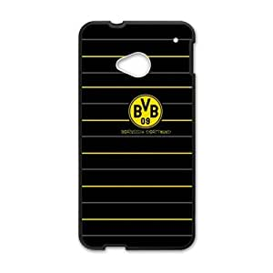 BVB Borussia Dortmund Cell Phone Case for HTC One M7 by mcsharks