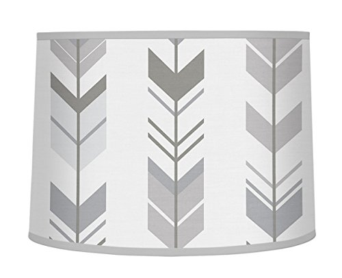 Lamp Shade for Sweet Jojo Designs Grey and White Woodland Ar