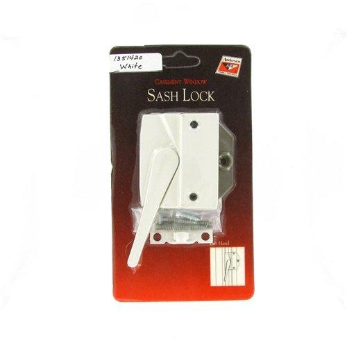 Andersen® #7191-32 Sash Lock & Keeper (Left Hand) in White (1974 to 1995) by Andersen