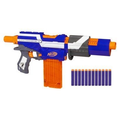 Nerf N-Strike Exclusive Elite Alpha Trooper CS-12 [並行輸入品] B074TFQZ8Z