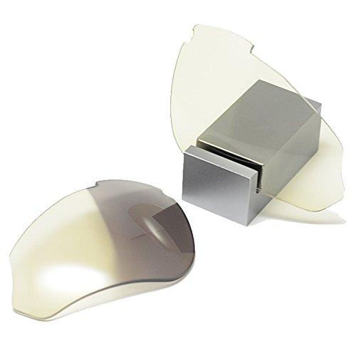 GOODMAN LENS MANUFACTURE(グッドマンレンズマニュファクチュア) RUDY PROJECT(ルディープロジェクト) EXCEPTION(エクセプション)用交換レンズ 調光シリーズ (サングラス)(眼鏡)(メガネ)(自転車)(アウトドア)(登山)(サイクリング)(紫外線)  4.クリア→グレー×シルバーミラー B00TC162BE