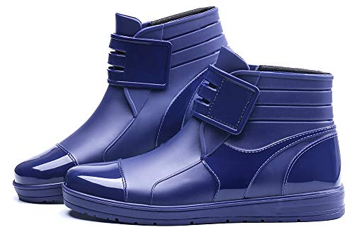 - YOOEEN Womens Rain Boots Short Rubber Boot Waterproof Work Garden Shoes Anti-Slip Outdoor Ankle Wellies