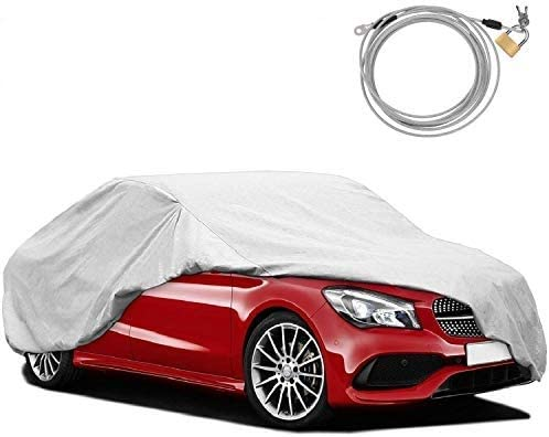 Amazon Com Kakit 2 Layers Windproof Waterproof Car Cover Uv