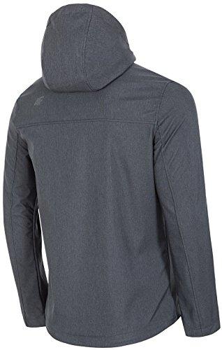f Softshell M Jacket gris para Kurtka Urban Hiker 4 hombres X4xIqd4