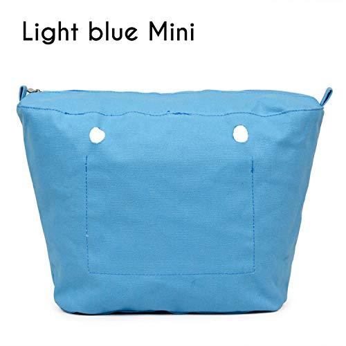 Fodera In Interno Interna Blue Per Canvas Tasca Rivestimento Inserti Constructs Impermeabile O Zip Mini Light Con Borsa CwX5UR