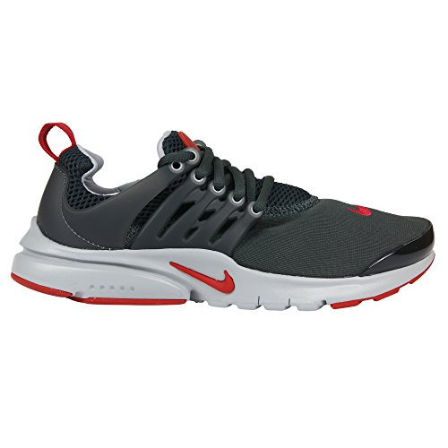 NIKE Presto GS Youth Boys Running Shoe (5 M US Big Kid, Gray)