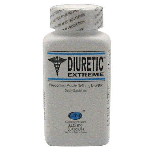 CTD Diurétique Extreme 80 Perte de poids Caps