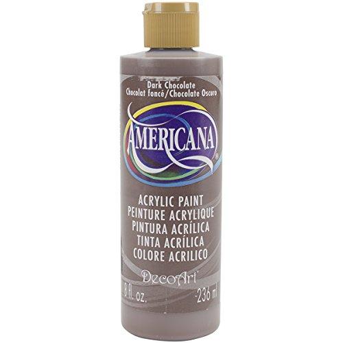 DecoArt DA065-9 Americana Acrylics, 8-Ounce, Dark Chocolate