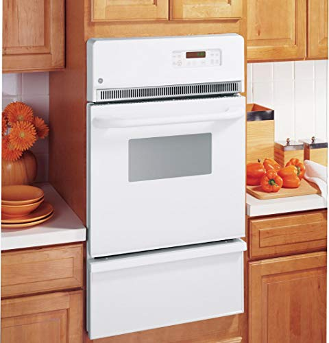 """GE 24"""" Built-In Single Gas Wall Oven White JGRP20WEJWW"""