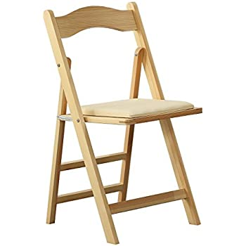 amazoncom winsome wood folding chairs natural finish set of 4