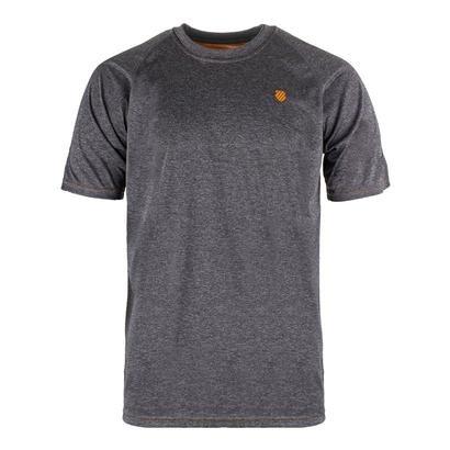 Crew Mens Tennis Shirt (K-Swiss Men`s Backcourt Tennis Crew-(101284-F17))