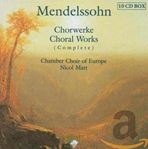 Choral Works Some reservation Complete Large-scale sale