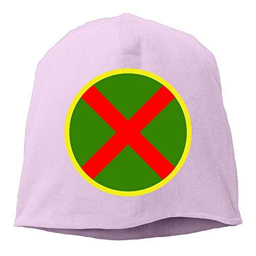 YUVIA Martian Manhunter Men's&Women's Patch Beanie RunningPink Hat For Autumn And Winter