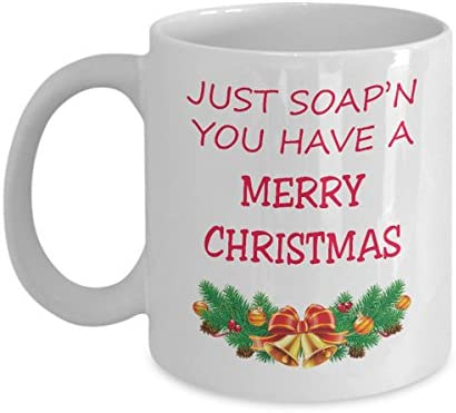 Amazon Just soap n you have a merry christmas Coffee