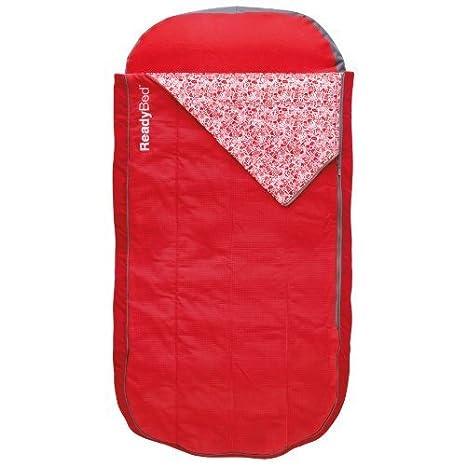 Amazon.com: ReadyBed Deluxe Airbed y bolsa de dormir en uno ...