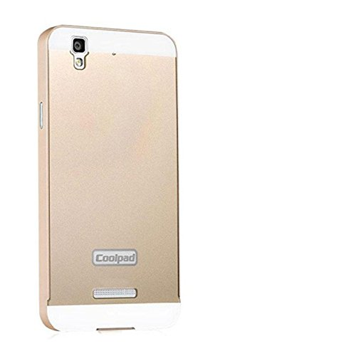 new arrival 5b60f 58f34 Luxury Aluminum Frame+Acrylic Back Cover Case Bumper For Micromax Yu Yureka