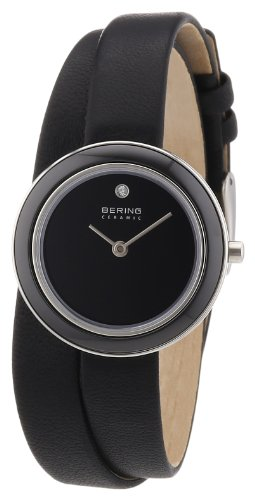 Bering Time Damen-Armbanduhr Ceramic Analog Quarz 33128-442