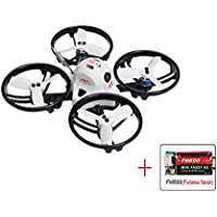 KING KON ET115 PNP Brushless FPV RC Racing Drone Mini Quadcopter (FM800 receiver compatible with Futaba)