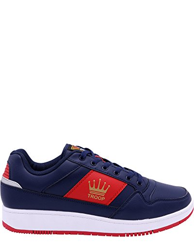 Verden Av Troppe Menns Destroyer Lav Sko Joggesko Navy / Red