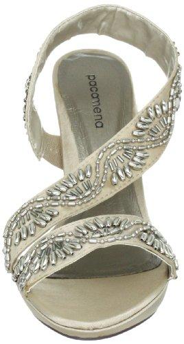 Sandalen Damen Paco Mena Stone 87 Fashion Sempervivum 04948 Beige Sandalen rgIHqwI
