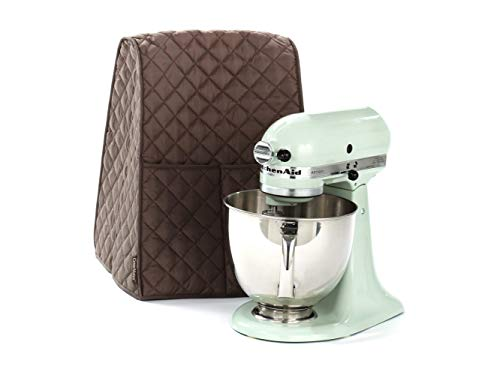 (Covermates - Mixer Cover - 12W x 12D x 17H - Quilted Diamond Collection - 2 YR Warranty - Dust Protection - Washable - Bronze)