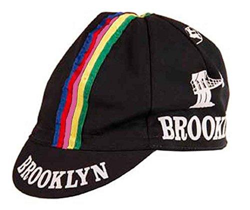 Giordana 2015 Brooklyn Team Cycling Cap - Black with Stripes