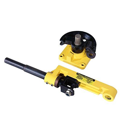 Stainless Steel Hydraulic Pipe Bender : Beamnova manual hydraulic pipe tube bender set quot