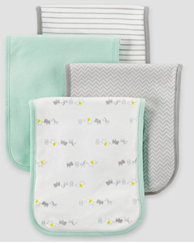 Carters Burp Cloths - 8