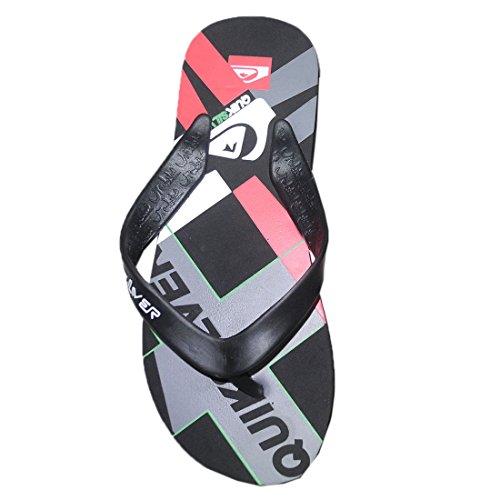 Flop Rubber Sandals Flip Mens Quiksilver Beach Multicolor Slippers Thongs YwqHqfZ
