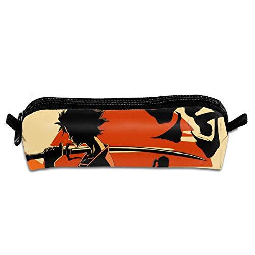 Samurai Champloo Students Pencil Case Pen Bag Coin Purse Pouch (School Season Gift)