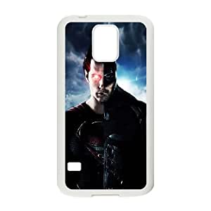 Batman Superman Mashup Samsung Galaxy S5 Cell Phone Case White Exquisite gift (SA_538292)