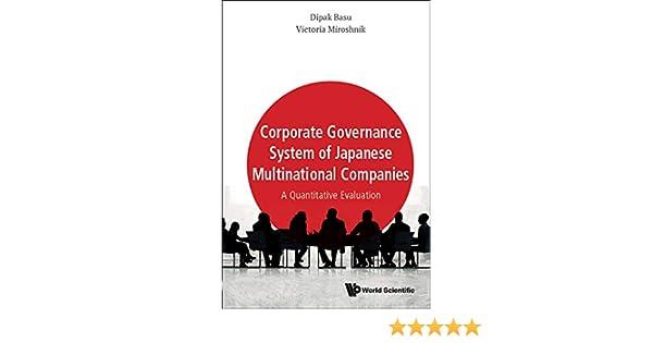 Amazon com: Corporate Governance System of Japanese