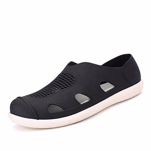 Trend Sandalen Männer Strand Loch Schuh Männer Rutschfest Sandalen ,schwarz,US=8,UK=7.5,EU=41 1/3,CN=42