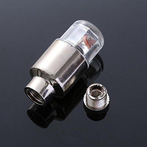 88AMZ 2PC wasserdichte Reifen Ventilkappen Neonlicht Auto Zubeh/ör Fahrradlicht Auto,wasserdichte+Ultra Bright LED,LED Ventil Kappen,Reifen Beleuchtung,F/ür Sie Fahrrad,Auto,Motorrad oder LKW Rot