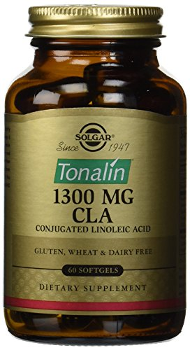 Solgar Tonalin CLA 1300 Milligram Softgels, 60 Softgels