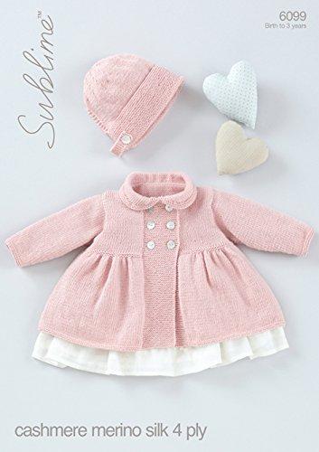 Sirdarsublime Baby Cashmere Merino Silk 4ply Knitting Pattern