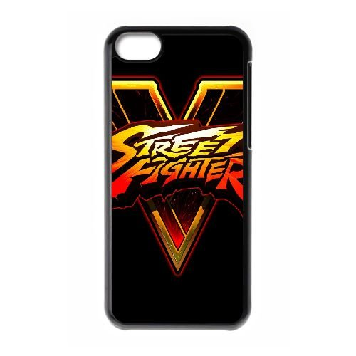 Street Fighter V Fighting Logo 143 coque iPhone 5c cellulaire cas coque de téléphone cas téléphone cellulaire noir couvercle EEECBCAAN03282