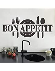 Wall Decals for Kitchen, Bon Appetit, Quotes for Kitchen, Home Decor, Wall Stickers