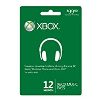 12 Month Xbox Music Pass - Xbox One Digital Code