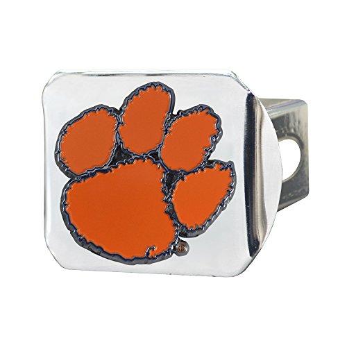 - SLS Clemson Tigers 3D Color Emblem Chrome Hitch Cover