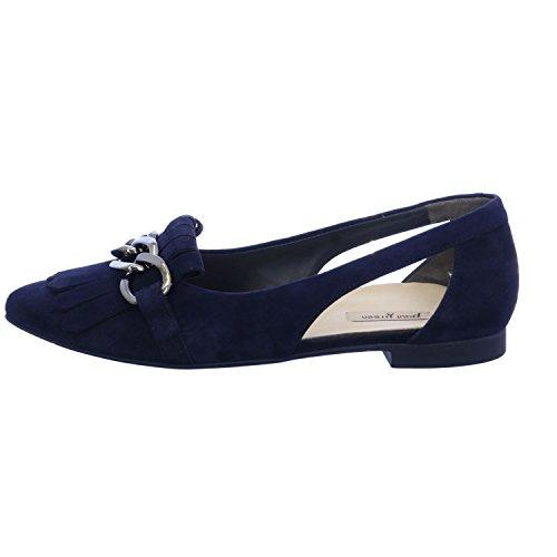 Blu Paul Verde Velluto Blu Capra Sneaker Blu
