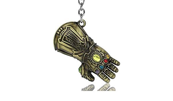 WenVann 1 pieza de guante Thanos con gema, potente guante ...