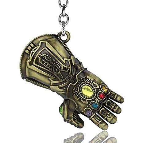 Amazon.com: WenVann 1 PC Thanos Guante con Gem Potente ...