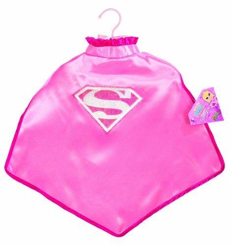 [My Super Best Friends Supergirl Cape With Puff Hanger by Imagine by Rubie's] (Supergirl Cape With Puff Hanger)