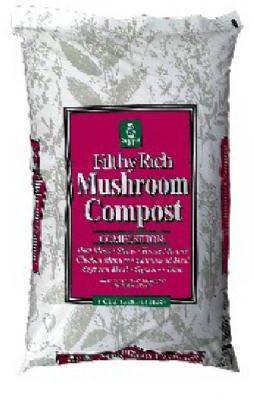 Mushroom Compost Lawn - 1