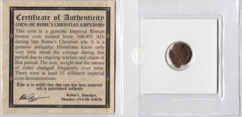(Valens Certified Authentic Ancient Roman Coin by KB Coins)