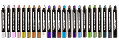 L.A. Colors Eye Shadow Pencil Stick Set of 23 with Sharpener