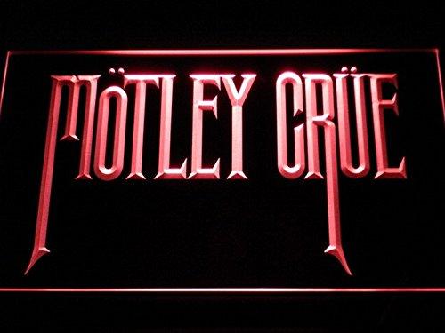Motley Crue Band Rock Bar LED Neon Light Sign Man Cave C112-R