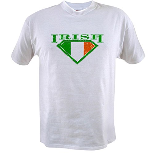 Royal Lion Value T-Shirt Irish Superman Crest Luck of Irish - (Ireland Value T-shirt)